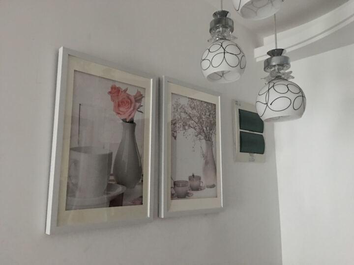 KINGART 现代简约卧室装饰画 床头画挂画 沙发背景画过道走廊壁画墙画 风景画黑白横幅S222 无限星空  横幅价格 40*120 晒单图