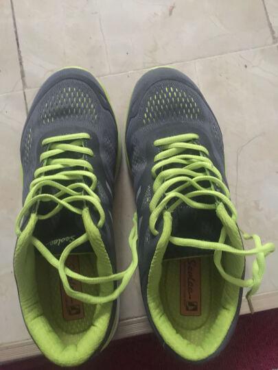 SEVLAE圣弗莱夏户外休闲鞋轻便男网面透气徒步鞋旅游登山鞋 深灰色 42 晒单图