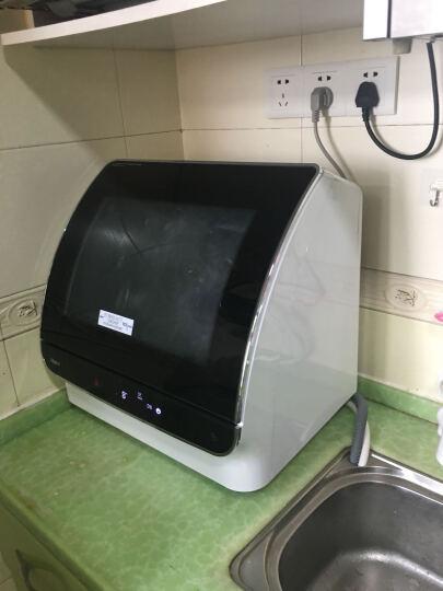 海尔 (Haier)洗碗机HTAW50STGB 小海贝台式洗碗机小贝消毒杀菌立体喷淋 晒单图