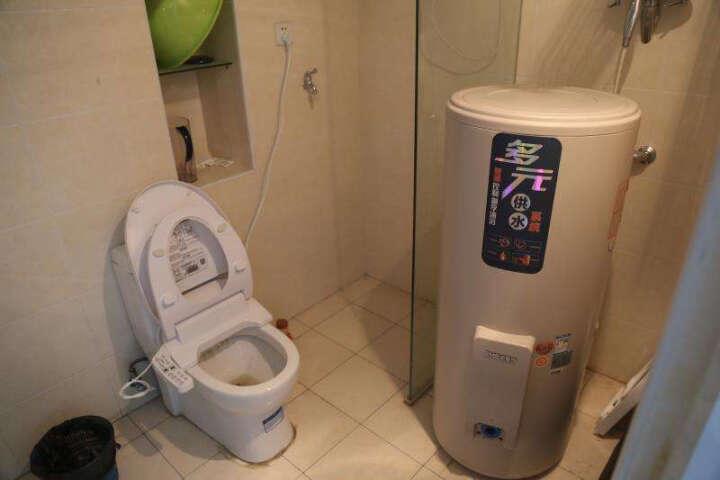 史麦斯 (sms)储水式商用电热水器 大容量5000W速热式洗澡机落地式中央供水系统 LA-1/200L/5000W中央供水系统杏灰色 晒单图