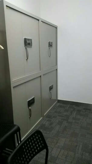 虎牌 保险柜(TIGER)DSM1851电子保密柜带密码锁加厚钢制防盗保险分体双节文件柜 晒单图