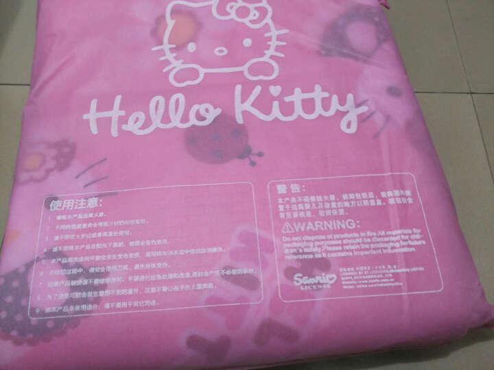 明德 Hello kitty凯蒂猫200*180cm野餐垫 防潮垫 帐篷垫 向阳花地垫KT-W610501 晒单图