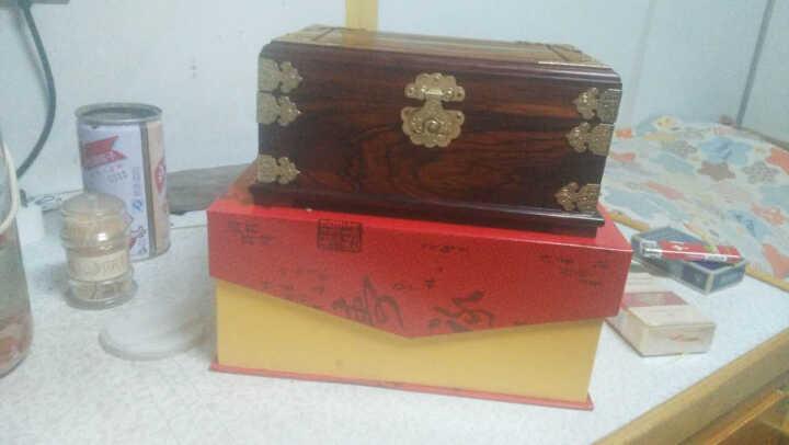 玄同 老挝大红酸枝珠宝箱首饰盒化妆箱红木雕摆件工艺礼品 经典款 晒单图