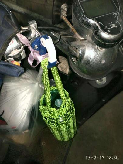 维诺亚摩托车电动自行车 改装配件 飞鸽 雅迪 爱玛 保险 拉码龙头挂钩勾 (KG)水杯架-紫色 晒单图