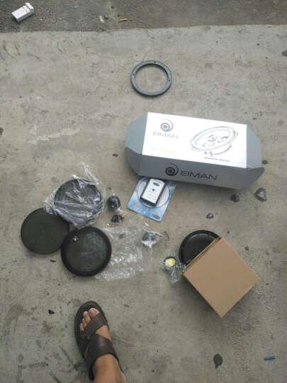 汽车音响改装喇叭套装小高音头中低音炮箱体6.5寸德国伊蔓车载分频全频同轴扬声器 前门:共4个(含2个高音+2个中低音+2个分频器) 晒单图