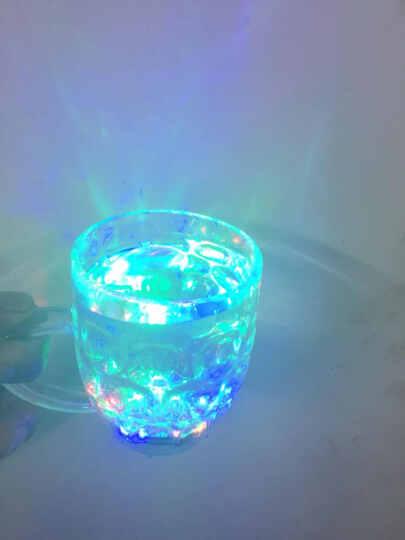 尤布乐  感应杯  创意礼品  男送女朋友 LED七彩炫彩闪光杯 夜光杯 水杯 啤酒杯 晒单图