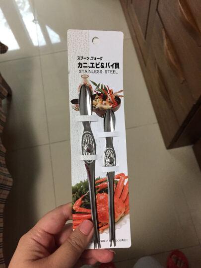 日本进口不锈钢蟹针蟹叉套装 家用吃螃蟹小工具帝王蟹腿肉蟹脚蟹钳夹吃蟹用品蟹八件蟹六件配剥蟹拆蟹多用针 晒单图