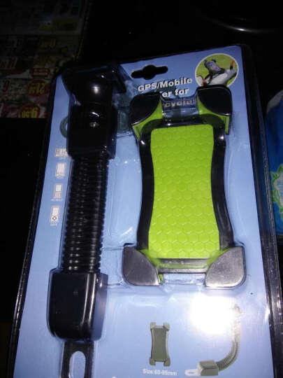 一口米 摩托车手机支架通用型电动车后视镜款支架手机导航仪支架 JS-030 绿色踏板电动电瓶车通用型 晒单图