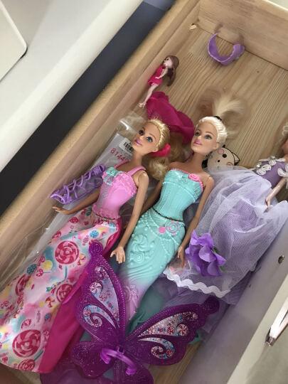 芭比(Barbie) 芭比娃娃套装大礼盒 女孩公主儿童玩具屋 DHC40 梦幻美人鱼 晒单图