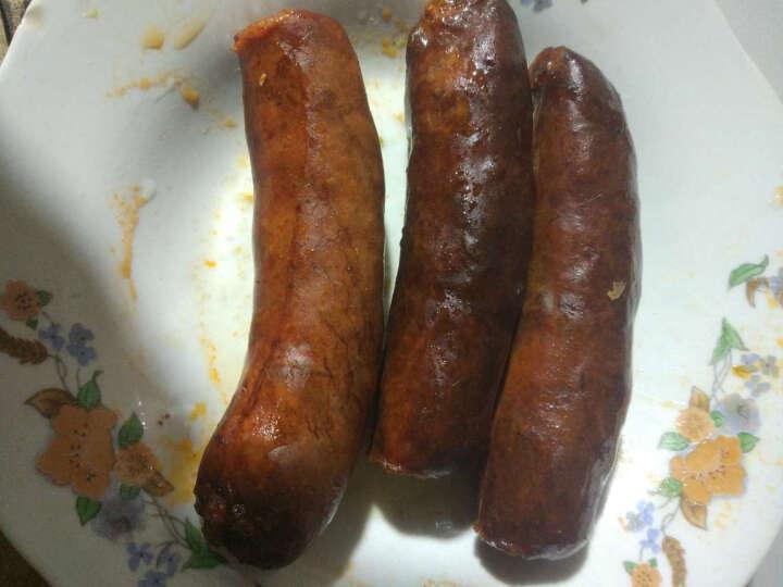 麻辣香肠腊肠400g腊肉火腿烟熏肉川味四川特产 广味 晒单图
