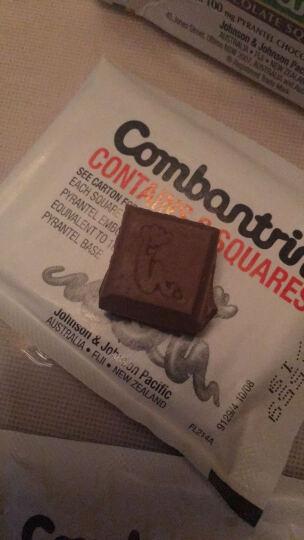 新西兰Combantrin宝宝儿童成人驱虫巧克力打虫药蛔虫 一盒4小包24块 晒单图