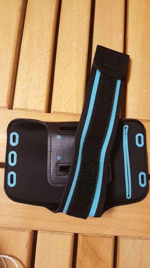 蒙奇奇跑步手机臂包运动防汗男女套包壳袋 iPhoneX/苹果8plus/7/华为/小米 经典黑 (6英寸以内) 晒单图