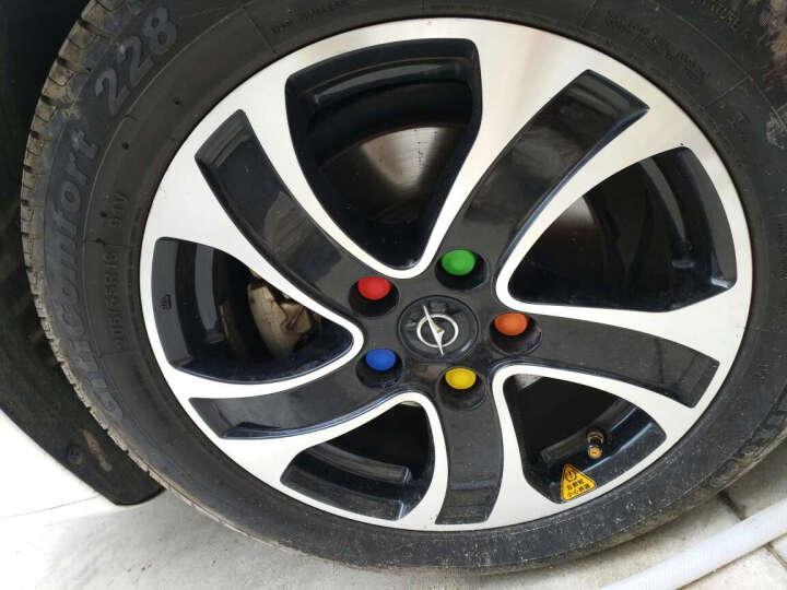 金利美J 轮毂螺丝专用装饰保护盖轮胎防护帽防水防尘防锈炫彩改装 五色款 沃尔沃V40V60XC60 晒单图