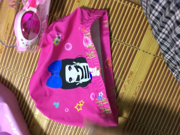 羽克(Yuke) 羽克 儿童泳镜 女童男童防水防雾游泳眼镜 星星卡通游泳镜 潜水镜YK1700-泳镜 粉色星星泳镜套餐B 晒单图