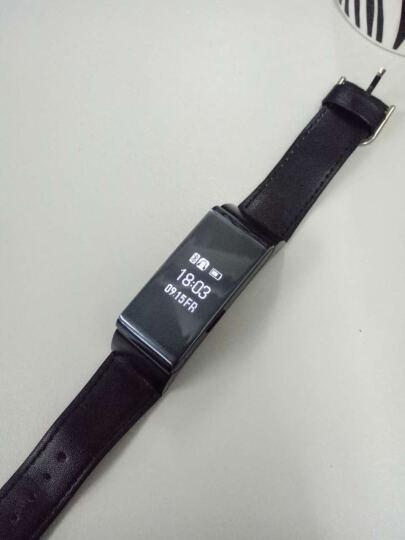 Dotlink M8 智能手环 运动计步蓝牙通话男女手表 蓝牙4.1车载通话手环 手机通用 M8银色 晒单图
