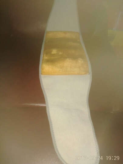 杰臣保暖护腰带加绒腰间盘突出加透气护肚子暖腰暖胃后背防寒男女士春夏季 灰色【二合一黄金绒支撑款】 L 晒单图