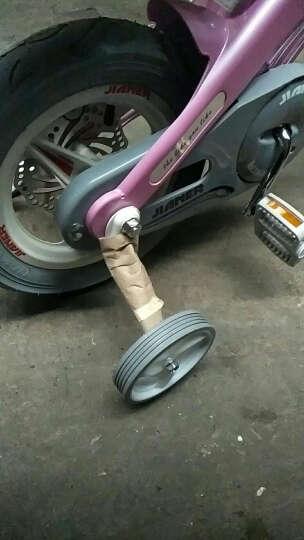 健儿(jianer) 儿童自行车男女3岁-10岁小孩单车12/14/16寸镁合金安全碟刹 高配可伸缩香槟金 14(适合身高95-125cm) 晒单图