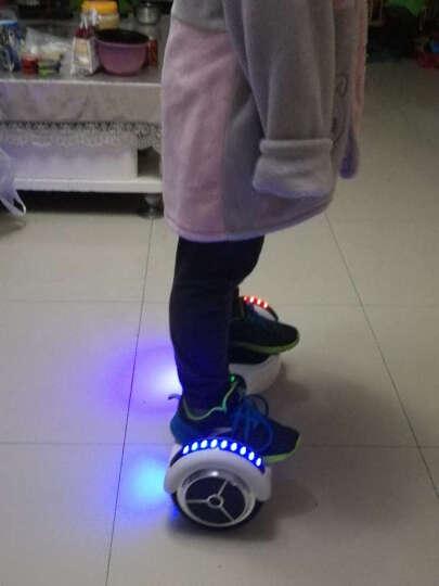 森林狼 成人儿童智能平衡车两轮双轮 体感车代步车电动迷你思维平衡车儿童扭扭车 标准版-三色火焰(自平衡+跑马灯)-带护具 晒单图