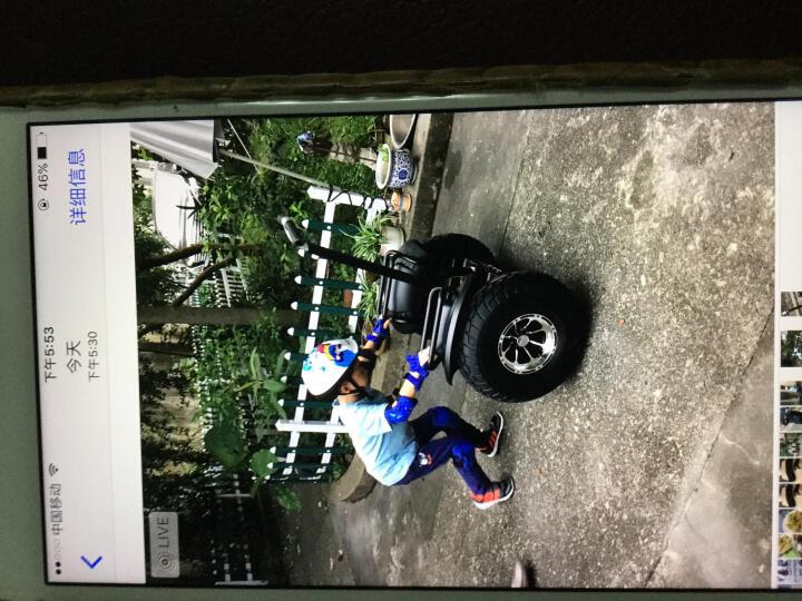 科思康电动平衡车两轮 智能成人儿童体感车代步思维漂移车 双轮自平衡带扶杆把手沙滩巡逻车 19英寸+36V锂电越野款(黑色) 晒单图
