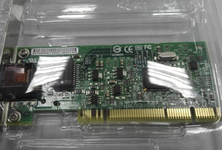 英特尔(Intel) Intel 英特尔PRO/1000 MT PWLA8390MT台式机网卡 晒单图