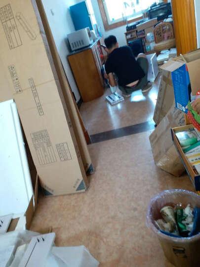 逸彩 现代简约客厅家具地柜墙小户型创意钢化玻璃烤漆伸缩电视柜组合茶几套装北欧风格 (五件套)1.6米电视柜+矮柜+高柜+挂柜+挂板 晒单图