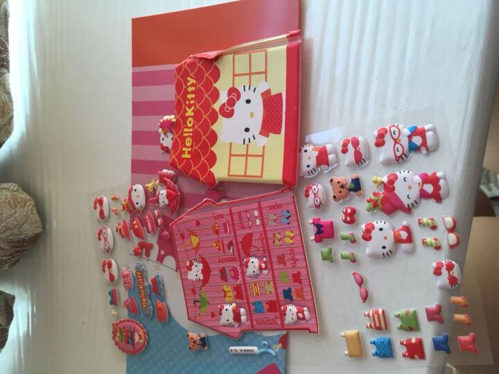 亿奇(EAKI) 亿奇儿童贴纸立体卡通动物书本贴过家家游戏贴纸芙蓉皮贴画 21公主 晒单图