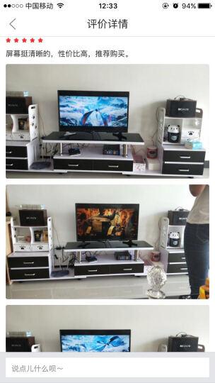 冠捷(AOC)32M3778 32英寸液晶电视 窄边框电视机 电脑显示器两用新款窄边39 黑色 底座+挂架 晒单图