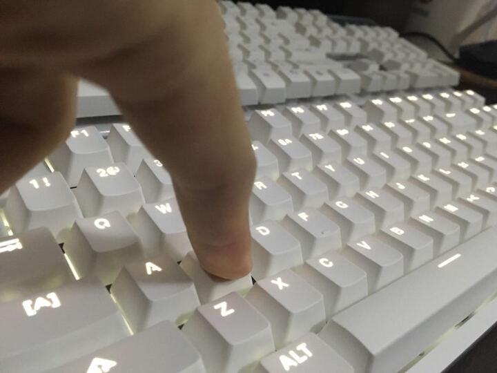小米(MI)游戏键盘104键金属RGB幻彩背光电脑笔记本USB静音办公竞技LOL吃鸡游戏键盘 小米机械键盘+小米无线便携鼠标 银色 晒单图