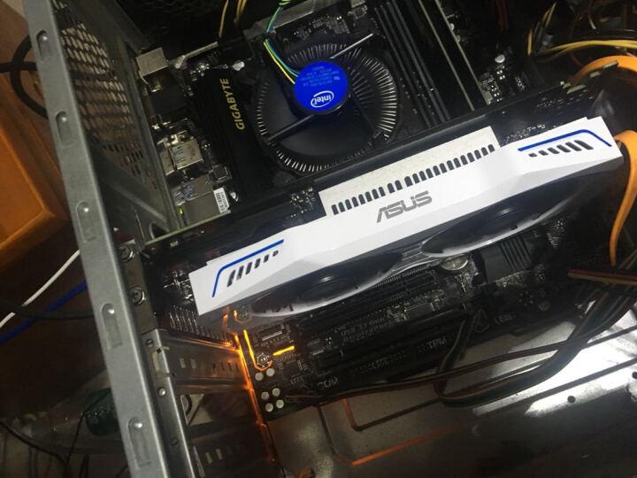 华硕(ASUS)DUAL-GeForce GTX1050-2G 1354-1455MHz 7008MHz GDDR5 雪豹游戏显卡 无需外接电源 晒单图