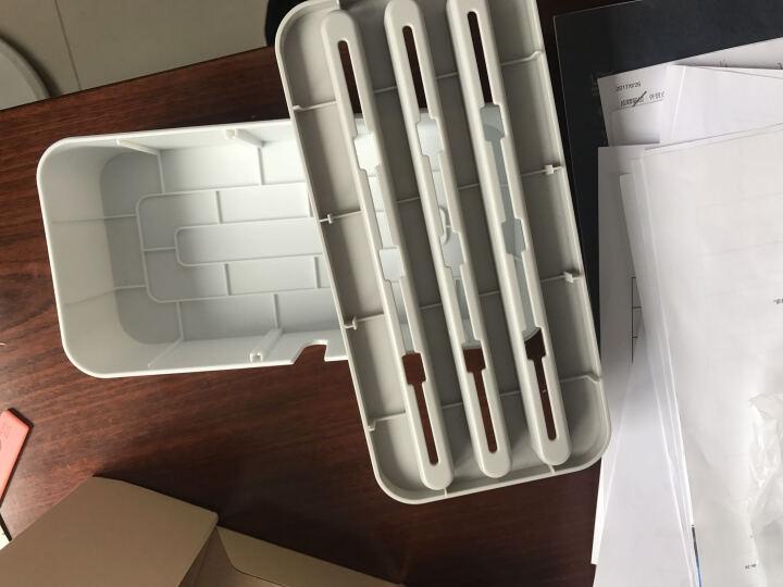 奥睿科(ORICO)充电器充电线收纳盒 线缆收纳盒理线充电支架电源线盒子 白色PB1028 晒单图