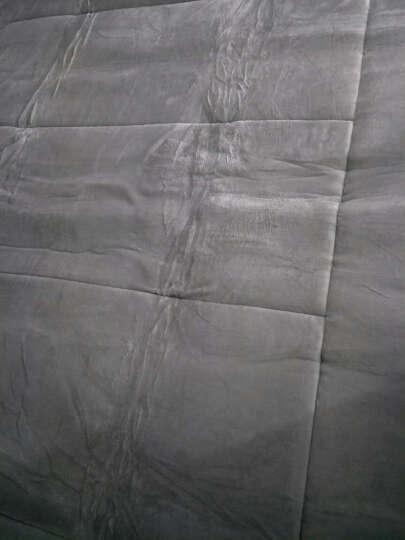 红瑞家纺 床上用品法兰绒珊瑚绒床垫子床褥子 双人垫子褥子宿舍防滑榻榻米薄地铺睡垫 1.8米床用 -纯色灰 晒单图