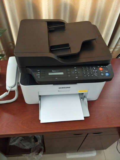 惠普三星 SL-M2071FH 黑白激光多功能一体机 打印复印扫描传真打印机 官方标配+原装硒鼓(111S)1个 晒单图