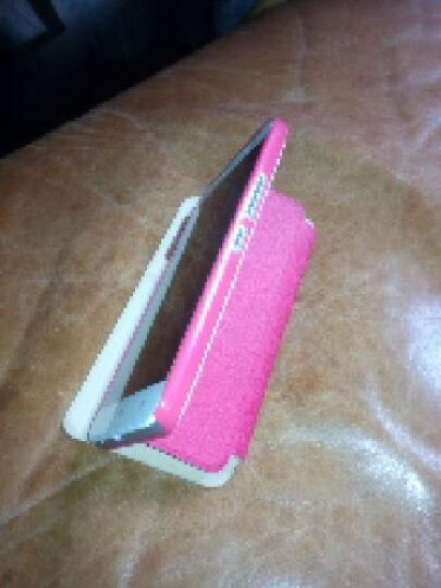 艾铭 华为荣耀3x视窗翻盖手机壳保护套 适用于华为荣耀3x畅玩版pro g750手机套 视窗触控-玫红色 晒单图
