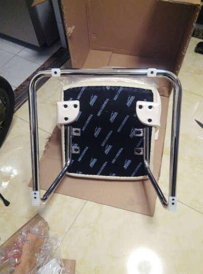 沃舒电脑椅子办公椅家用弓形会议椅老板椅 靠背豪华弓底座 /可180°旋转+自动归位 晒单图