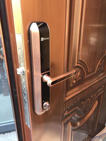 萤石 EZVIZ DL2指纹锁家用防盗门锁 霸王锁体金属门右开门 电子锁密码锁大门防盗锁 晒单图
