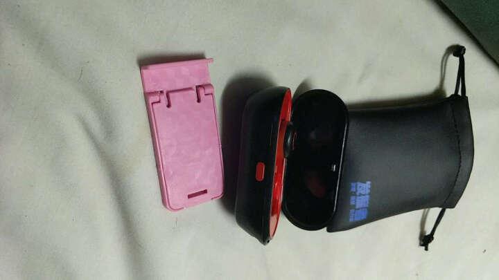 金骅洋 蓝牙耳机真无线双耳迷你超小隐形运动跑步重低音苹果iphone华为小米通用型 魅力红 晒单图