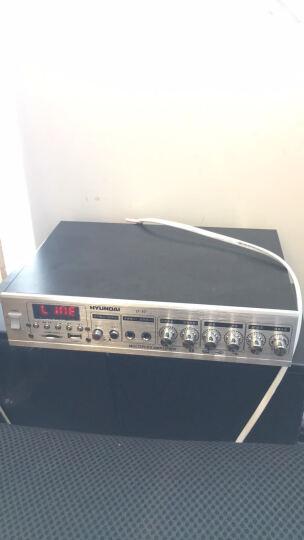 现代(HYUNDAI)D-30 吸顶喇叭套装音响定压功放背景蓝牙音乐公共广播音响组合吸顶一拖六(6英寸) 晒单图