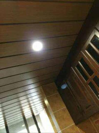 雅巢 集成吊顶铝扣板铝合金天花板客厅厨卫抗油污美式风仿木纹长条形定制材料 G200啡橡木纹 晒单图