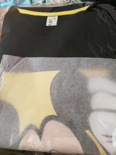 卓衣雅高圆圆杨幂明星同款秋季韩版潮学生米奇长袖加绒卫衣女套头宽松 黑色不加绒 XL 晒单图