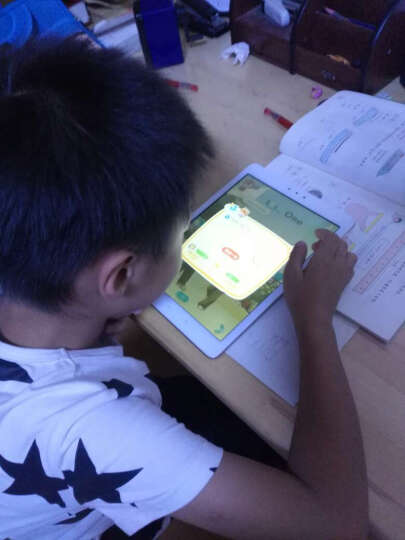 步步高 家教机S3 香槟金 64G 小学初中高中同步英语学习机 点读机 学生平板电脑 智能教育 香槟金 晒单图