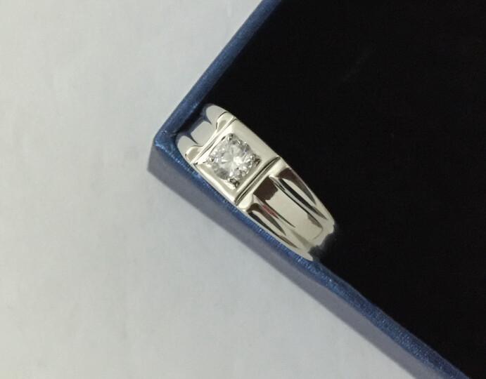 瑞诺 925银男士戒指 男款指环伯爵戒时尚霸气饰品 豪华版开口戒(可调15-22号) 晒单图