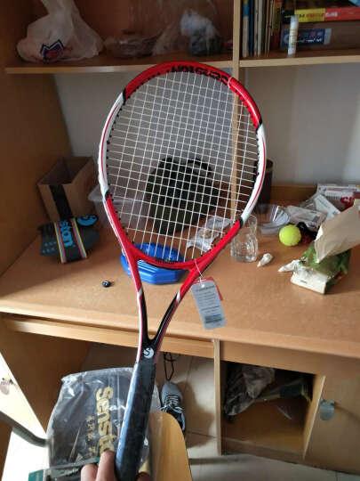 圣斯顿Senston网球拍 初学男女碳素一体网拍 全碳素黑白网球拍 晒单图