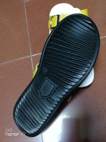 WENDYTDN夏季拖鞋男英伦人字拖凉鞋男士真皮男鞋 头层皮黑色 41 晒单图