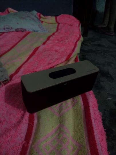 纽曼 蓝牙小音箱 迷你音响 低音炮便携电脑插卡收音机 小米华为手机扩音器 土豪金 晒单图