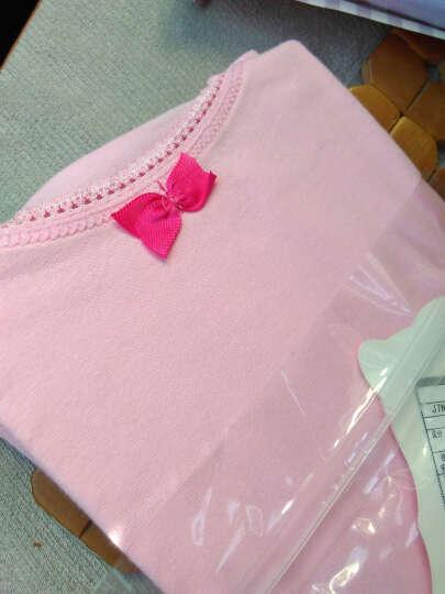 红豆居家(Hodohome)儿童背心女童中大童棉质弹力打底无袖T恤 浅粉 130/70 晒单图