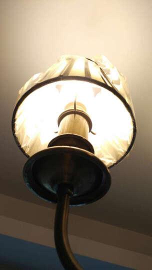 欧普照明(OPPLE)LED灯泡球泡 3瓦E14小螺口星光源节能灯 6000K白光 晒单图