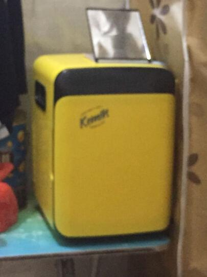 科敏10L车载冰箱冷暖箱车家两用迷你便携小型冷藏学生宿舍小冰箱 黄色 晒单图