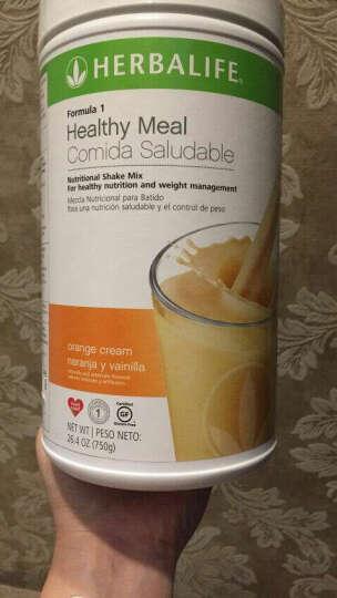 康宝莱(HERBALIFE) 美国产康宝莱奶昔混合蛋白奶昔粉 减肥瘦身代餐粉减重套餐饱腹 曲奇味750克 晒单图