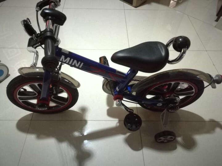 星辉(Rastar) 自行车12寸14寸16寸男孩女孩迷你MINI单车山地车童车脚踏车 宝马mini自行车12寸红色 晒单图