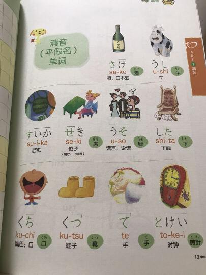 日语五十音字帖(附光盘) 晒单图